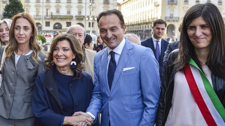 """Casellati visita il Piemonte: """"Terra che guarda all' Italia migliore"""""""
