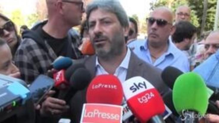 """Festa M5s a Napoli, Fico: """"Alleanza con il Pd? Non mi interessa. Non è una questione nazionale"""""""