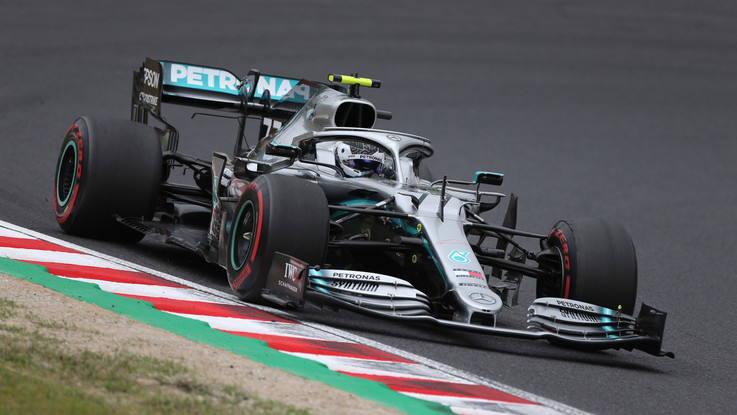 F1, Gp Giappone: Bottas trionfa davanti a Vettel e Hamilton