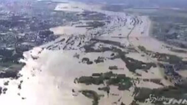 Giappone, inondazioni e vittime dopo il passaggio di Hagibis