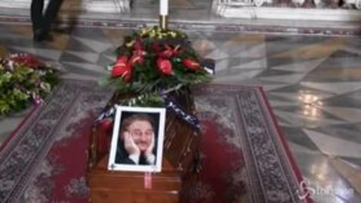 """A Napoli l'ultimo saluto a Carlo Croccolo, Gallo: """"Amato, purtroppo a volte isolato dai colleghi"""""""