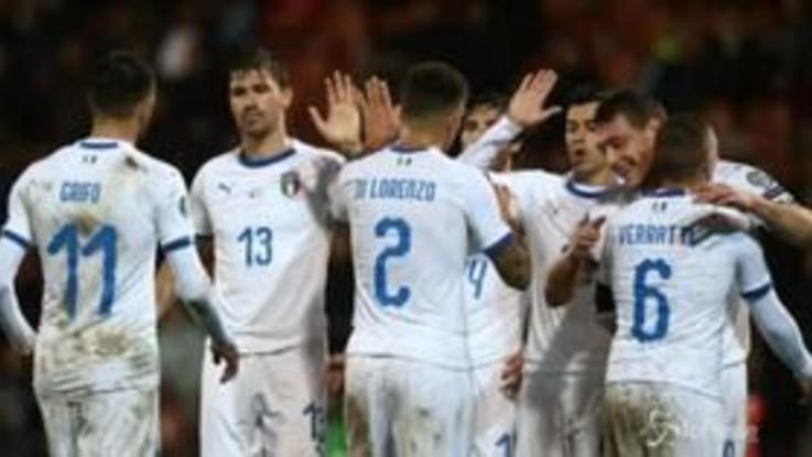 L'Italia continua la striscia, vittoria anche in Liechtenstein