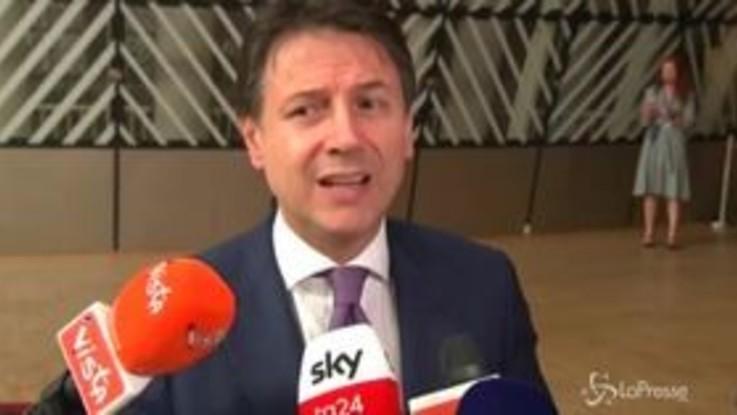 """Bruxelles, Conte difende la manovra: """"Nessun aumento delle tasse"""""""