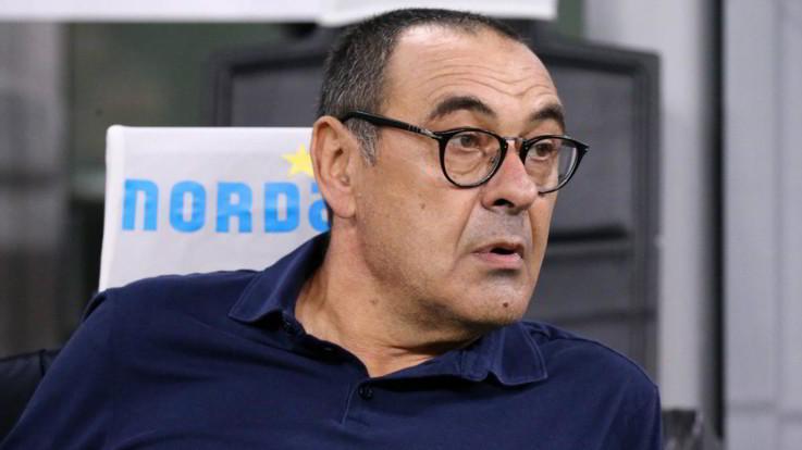 """Juve, Sarri: """"Bologna squadra pericolosa, spero ci sia Mihajlovic"""""""