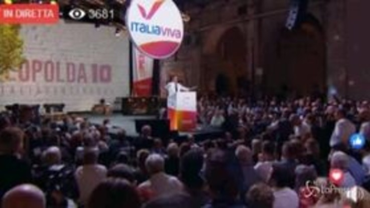 """Leopolda, Renzi a Salvini: """"Pensavo fosse un Don Rodrigo e invece è un don Abbondio"""""""