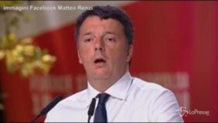 """Renzi a Salvini: """"Goditi il Papeete, a governare ci pensiamo noi"""""""