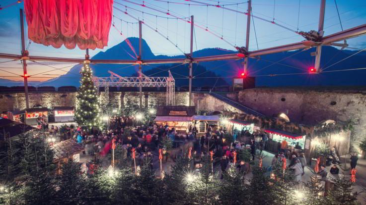 Austria, i Mercatini di Natale al maneggio degli Haflinger più grande d'Europa