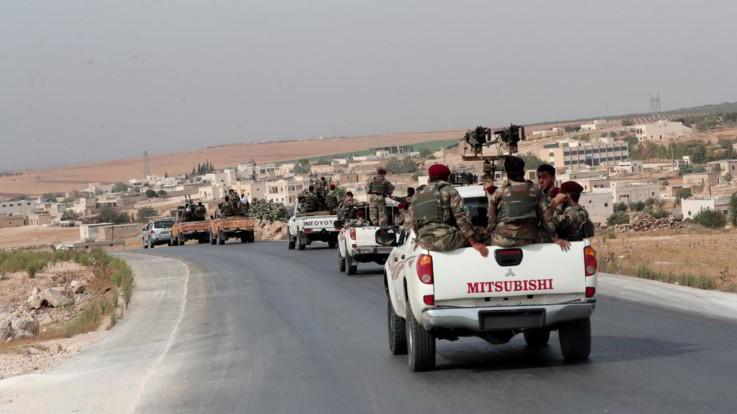 Siria, completato ritiro dei curdi da zona di sicurezza