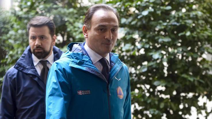 Forum LaPresse con il  Governatore del Piemonte Alberto Cirio