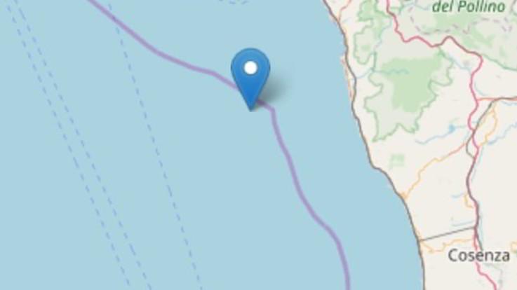Terremoto di magnitudo 4.4 in Calabria: paura ma nessun danno a Scalea