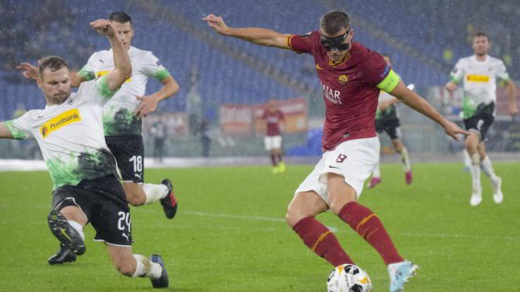 Europa League, beffa Roma: non basta Zaniolo, pari Borussia al 95'