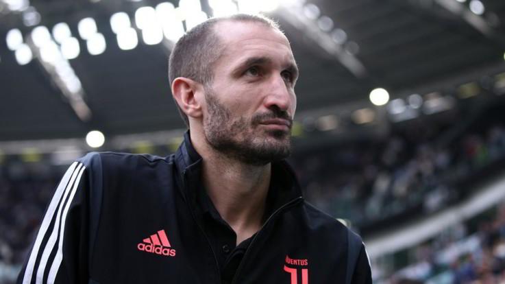"""Calcio Juve, Chiellini: """"Tra 2 anni mi ritiro. Champions vicina"""""""