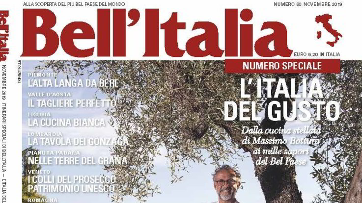 Bell'Italia, in edicola il numero speciale 'L'Italia del Gusto'