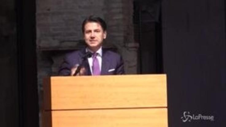 """Conte in Umbria: """"Non faccio campagna elettorale, qui esperimento interessante"""""""