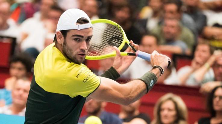 Atp Vienna, Berrettini sconfitto in semifinale da Thiem