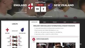 Rugby, impresa Inghilterra: sconfigge All Blacks