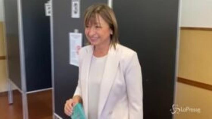 Regionali Umbria, al voto la candidata del centrodestra Donatella Tesei