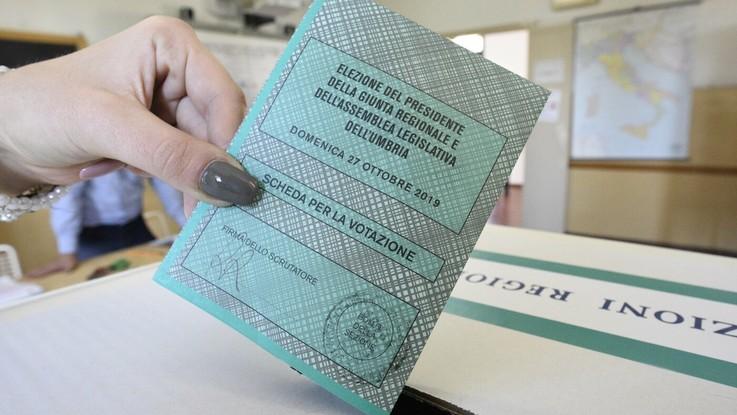 Urne chiuse in Umbria, affluenza in aumento rispetto al 2015