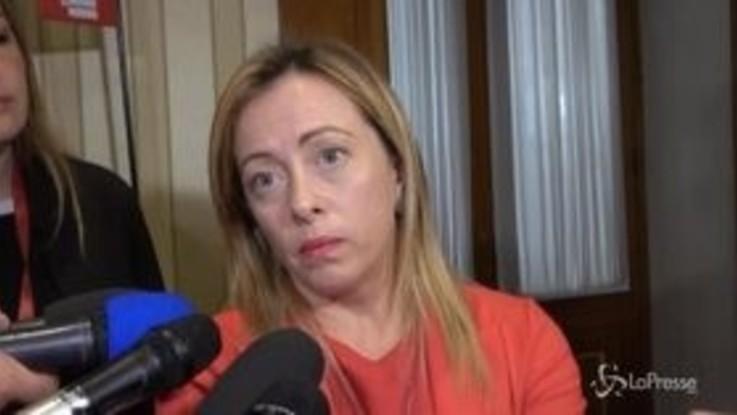 """Umbria, Meloni: """"Vittoria storica, chiediamo dimissioni di Conte, inviso agli italiani"""""""