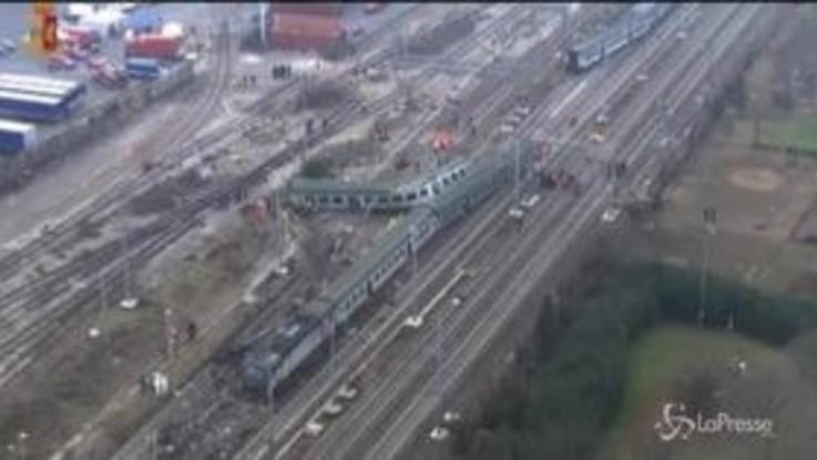 Pioltello, la ricostruzione 3d dell'incidente ferroviario
