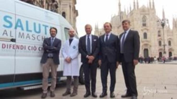 Salute, ultima tappa a Milano per la prevenzione al maschile di Fondazione Veronesi