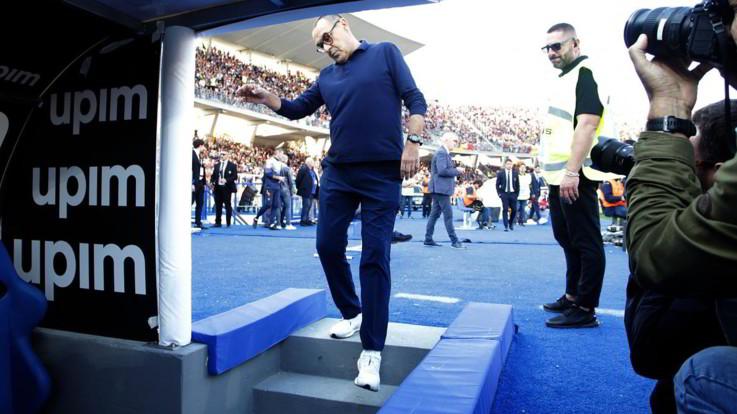 """Serie A,  Sarri: """"Possiamo migliorare. Classifica del Genoa bugiarda"""""""
