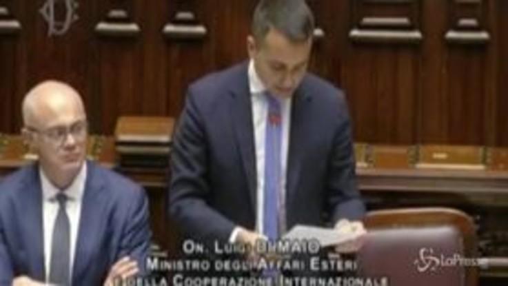 """Migranti, Di Maio: """"Interrompere il memorandum Italia-Libia sarebbe dannoso, lavoriamo per migliorarlo"""""""