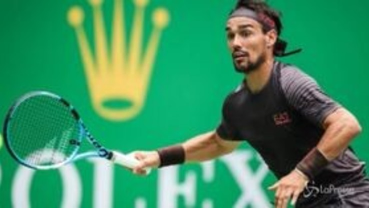 Fognini perde a Bercy e dà in escandescenze: addio alle Finals di Londra