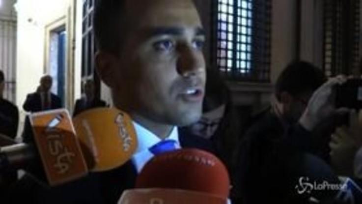 """Manovra, Di Maio: """"La legge di Bilancio è chiusa"""""""