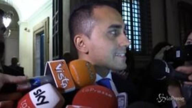 """Manovra, Di Maio: """"Va migliorata in Parlamento ma lo dobbiamo fare come squadra"""""""