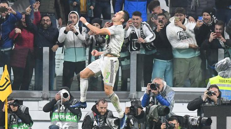 Serie A, Juve all'ultimo respiro sul Genoa: decide il rigore di Ronaldo al 94'