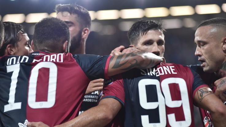 Serie A, la Roma fa poker. Cagliari, profumo d'Europa