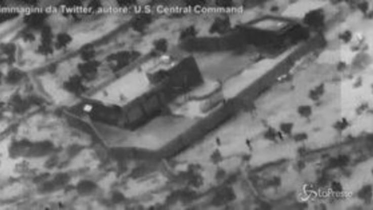 Uccisione Al Baghdadi: il Pentagono pubblica il video del raid