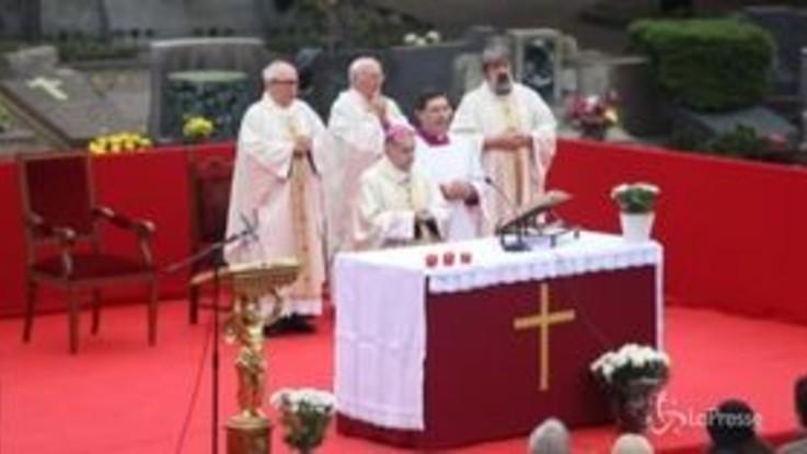 Ognissanti, commemorazione dei defunti al Monumentale di Milano con l'arcivescovo Delpini