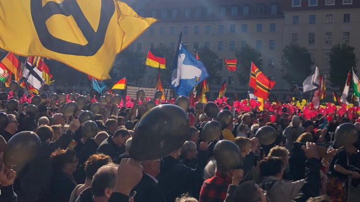 Germania, Dresda dichiara l'emergenza nazismo'