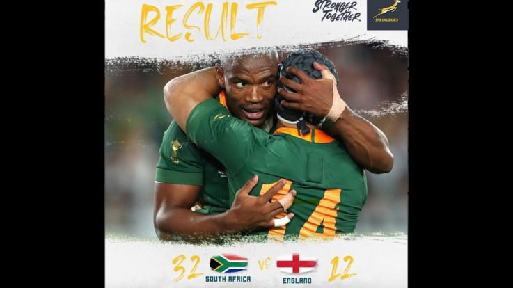 Mondiali di rugby: Sudafrica campione, Inghilterra battuta 32-12