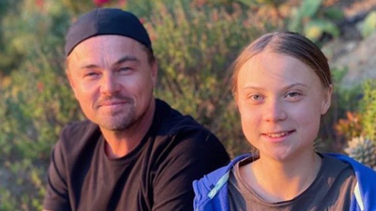 """DiCaprio e Greta """"insieme per un futuro migliore"""""""