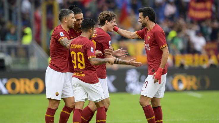 Serie A, Zaniolo e Veretout trascinano la Roma contro il Napoli
