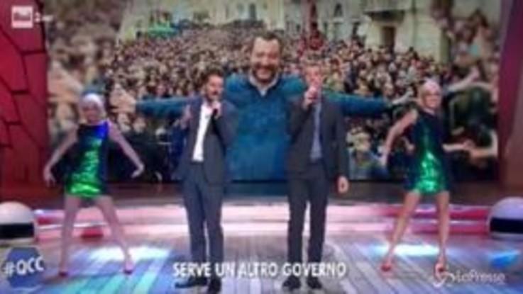 """Quelli che il Calcio, Luca e Paolo cantano: """"Ma che belle le elezioni da Trieste in giù"""""""