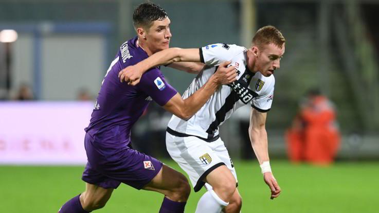 Serie A, il Parma frena la 'Viola': Castrovilli risponde a Gervinho