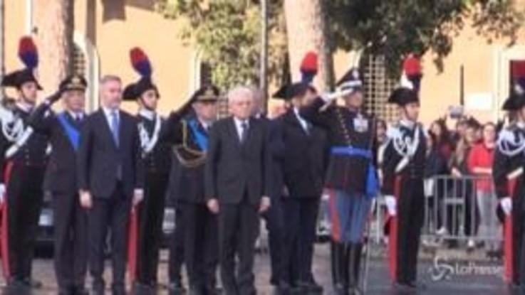 Festa delle Forze Armate, Mattarella e Conte all'Altare della Patria