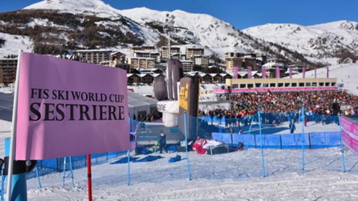 Sci alpino, a Sestriere è arrivata la prima neve sulla pista di Coppa del Mondo