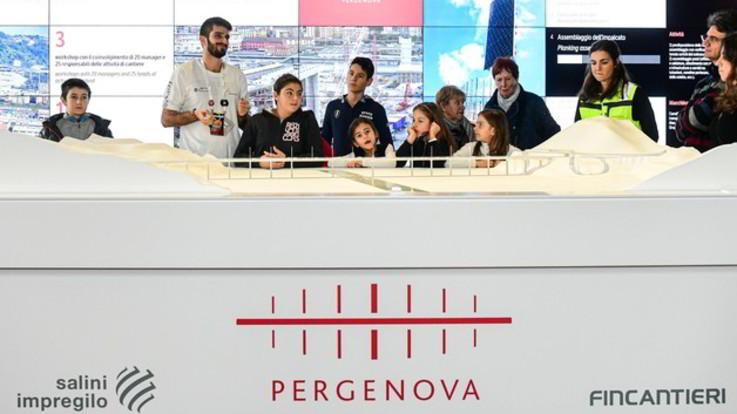 Genova, bimbi e adulti per nuovo viadotto: 3mila a Spazio Ponte per Festival Scienza