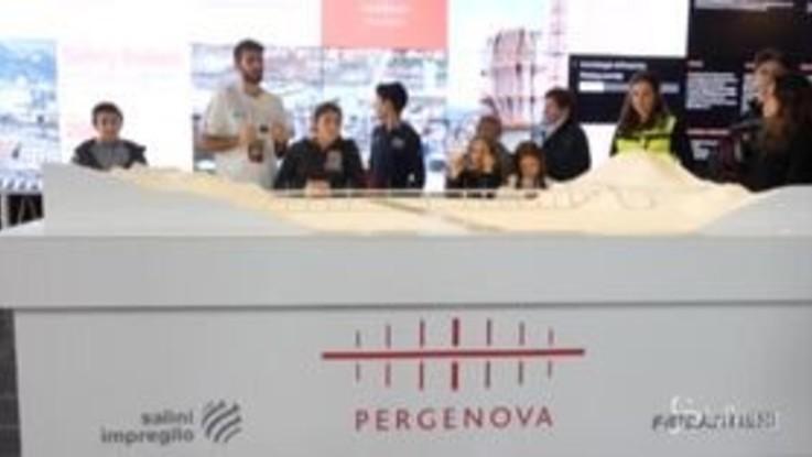 Genova, ecco Spazio Ponte: punto interattivo su nuovo viadotto Polcevera