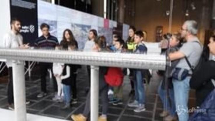 Genova, 3mila visitatori a Spazio Ponte durante Festival Scienza