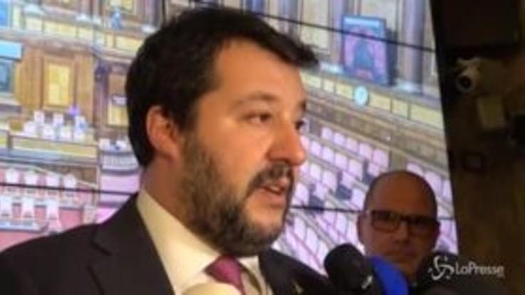 """Ilva, Salvini: """"Blocchiamo i lavori, spero Governo vada a casa"""""""