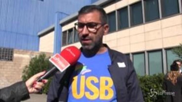 """Ex Ilva, Usb: """"Per noi deve chiudere, governo non ceda a ricatti"""""""
