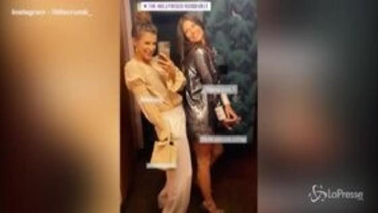 Elisabetta Canalis e Bianca Balti, l'amicizia prosegue sul red carpet