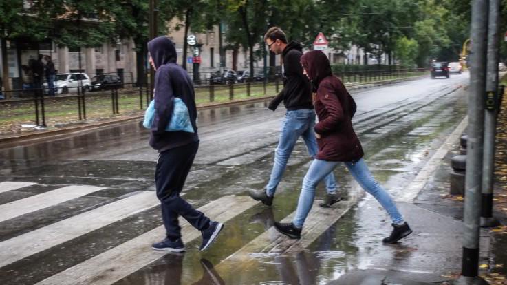 Il meteo del 6 e 7 novembre, continuano le piogge