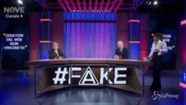 """Torna 'Fake', ospite Paolo Del Debbio: """"Non so perchè Berlusconi non abbia appoggiato la mozione della Segre"""""""